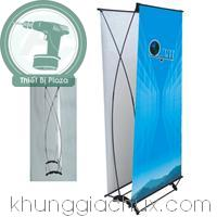 Picture Gia standy treo banner hinh cung 2 mat (kt 80x180cm)