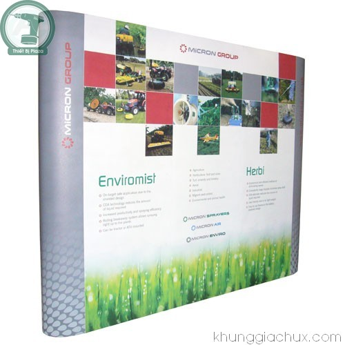 Picture Khung backdrop (popup) 3x4 ô thẳng (kt 230x300 cm)